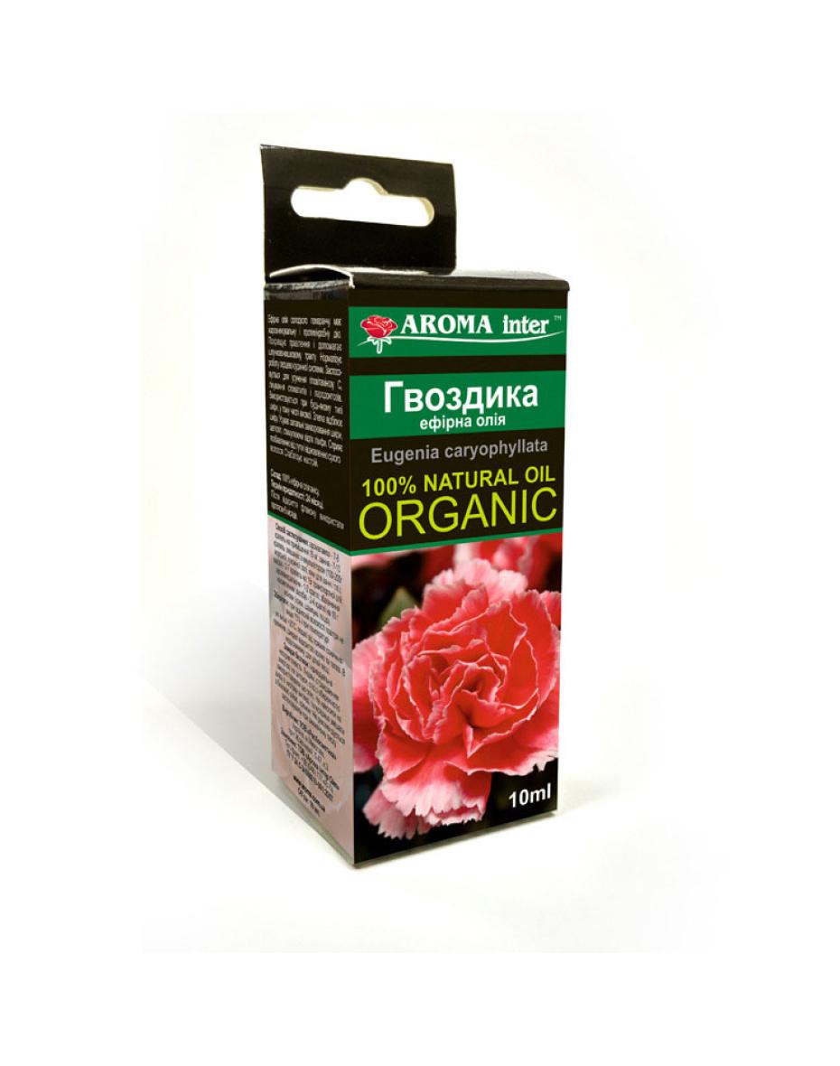 Ефірна олія Гвоздика 10 мл Aroma Inter