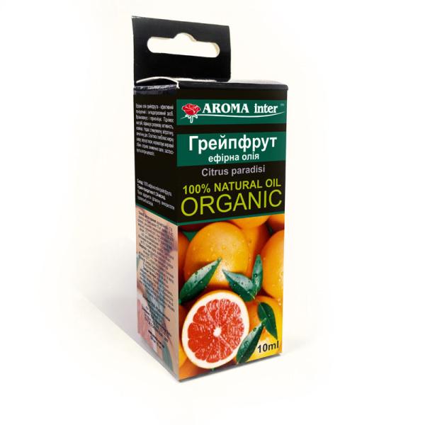Ефірна олія Грейпфрут 10 мл Aroma Inter