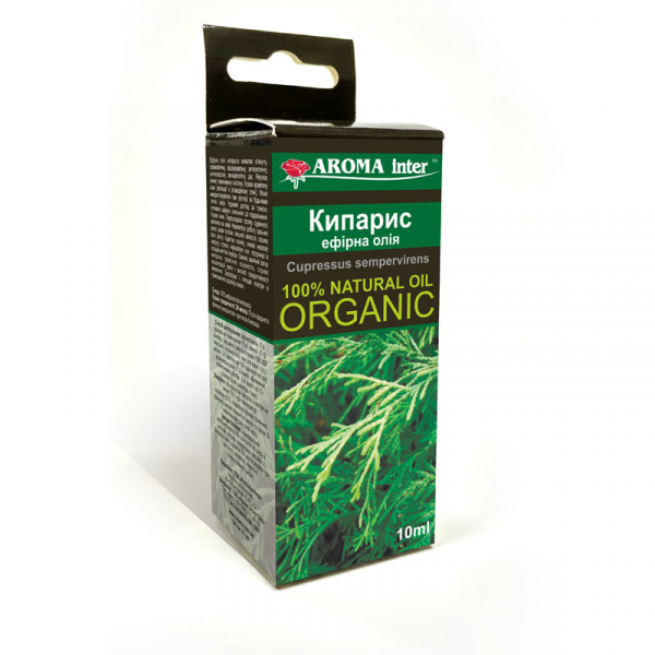 Ефірна олія Кіпарис 10 мл Aroma Inter