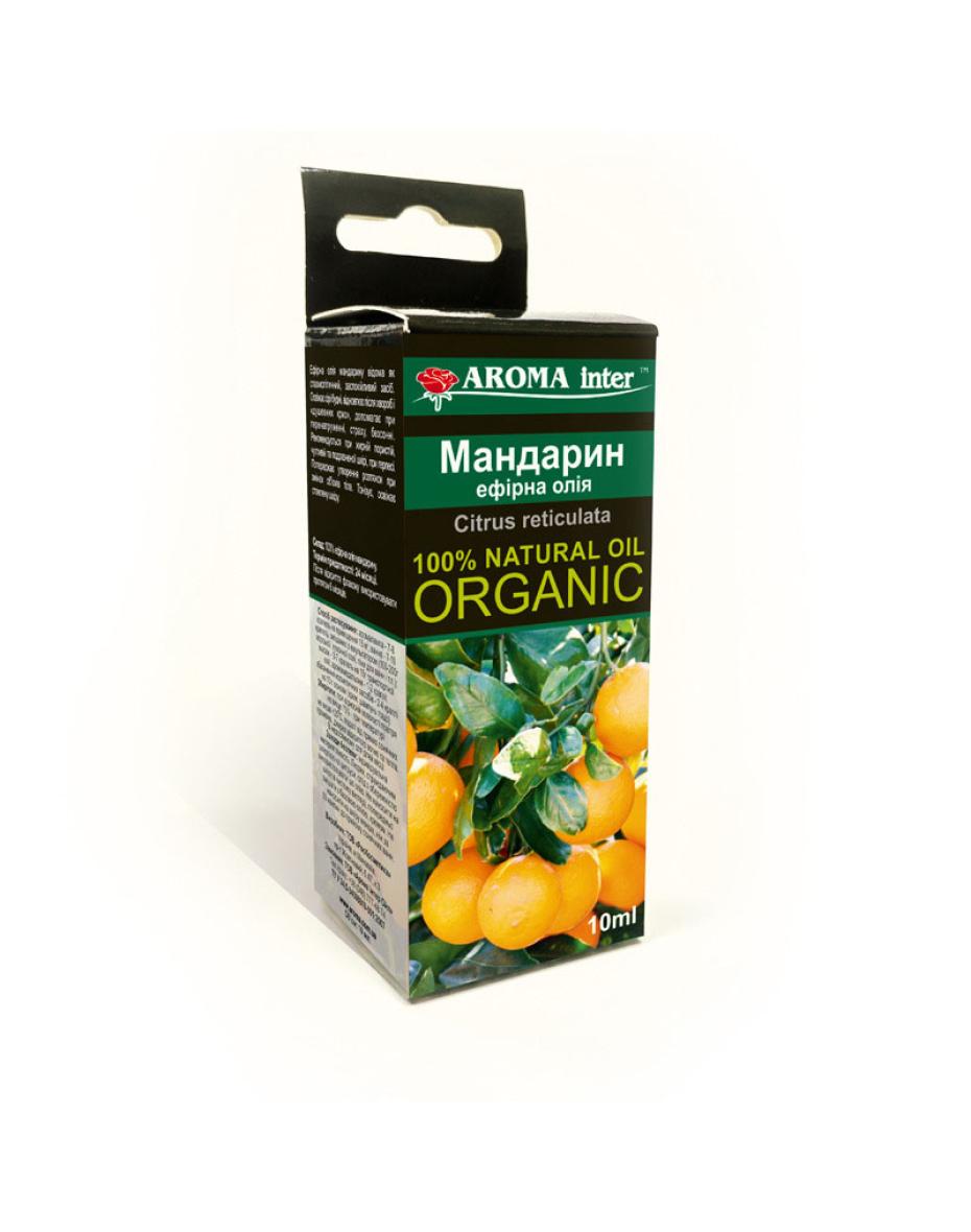 Ефірна олія Мандарин 10 мл Aroma Inter