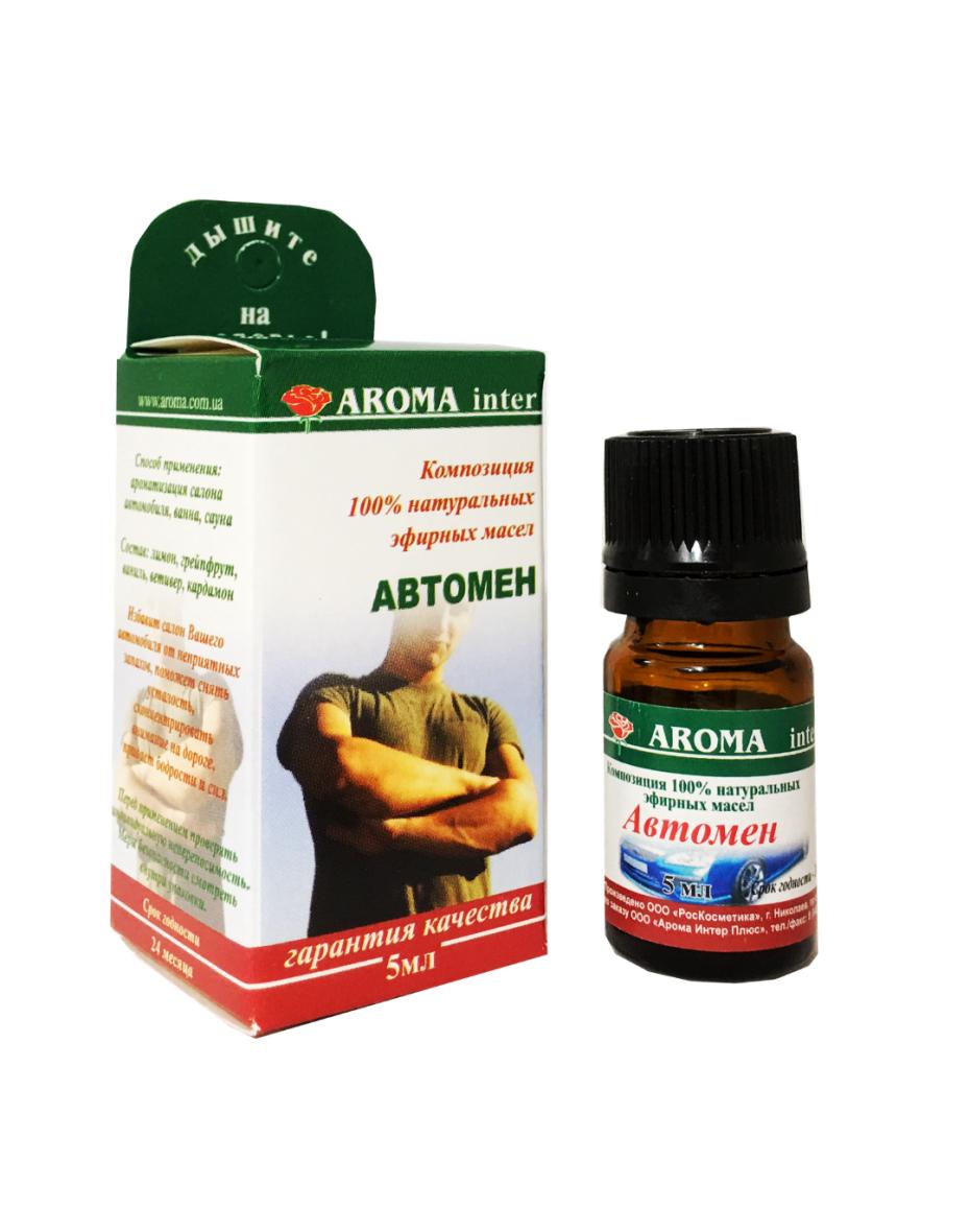 Композиція ефірних олій Автомен 10 мл Aroma Inter