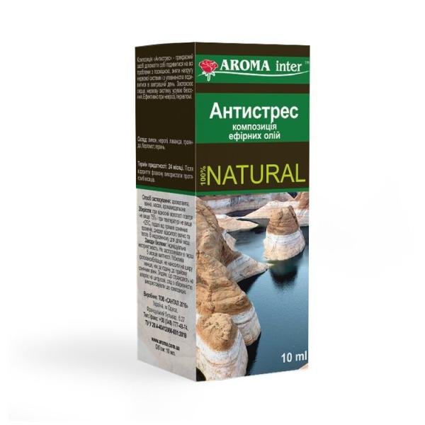 Композиція ефірних олій Антистрес 10 мл Aroma Inter