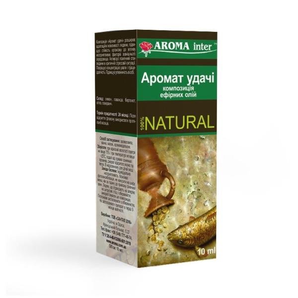 Композиція ефірних олій Аромат вдачі 10 мл Aroma Inter
