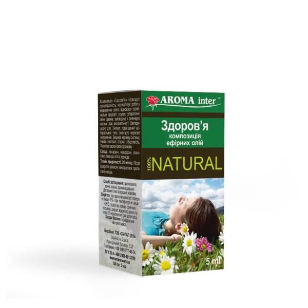 Композиція ефірних олій Здоров'я 10 мл Aroma Inter
