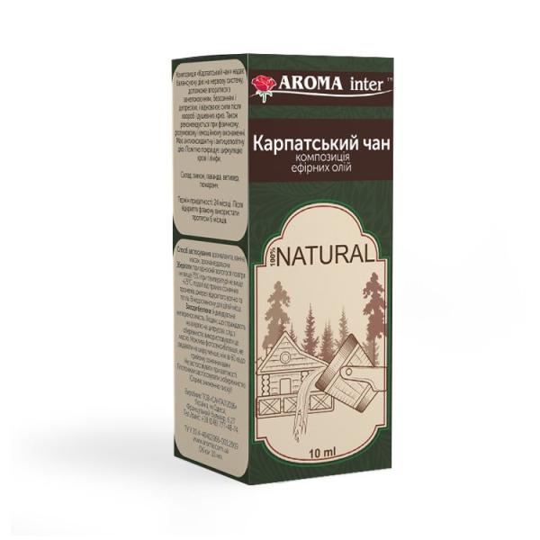 Композиція ефірних олій Карпатський чан 10 мл Aroma Inter