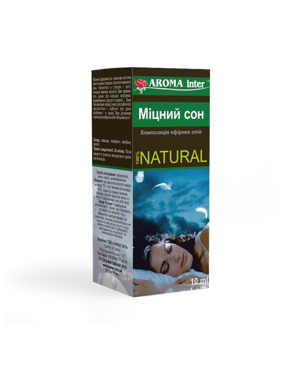 Композиція ефірних олій Міцний сон 10 мл Aroma Inter