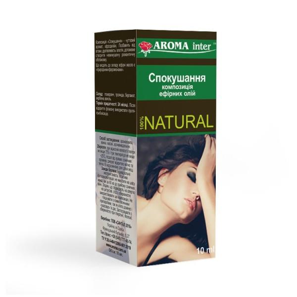 Композиція ефірних олій Спокушання 10 мл Aroma Inter