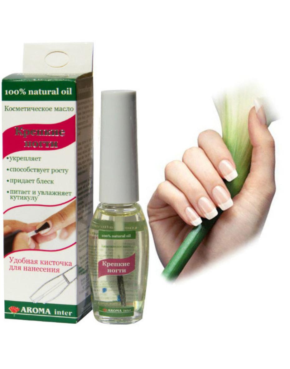 Олія косметична для догляду за кутикулами нігтів Міцні нігті 9 мл Aroma Inter
