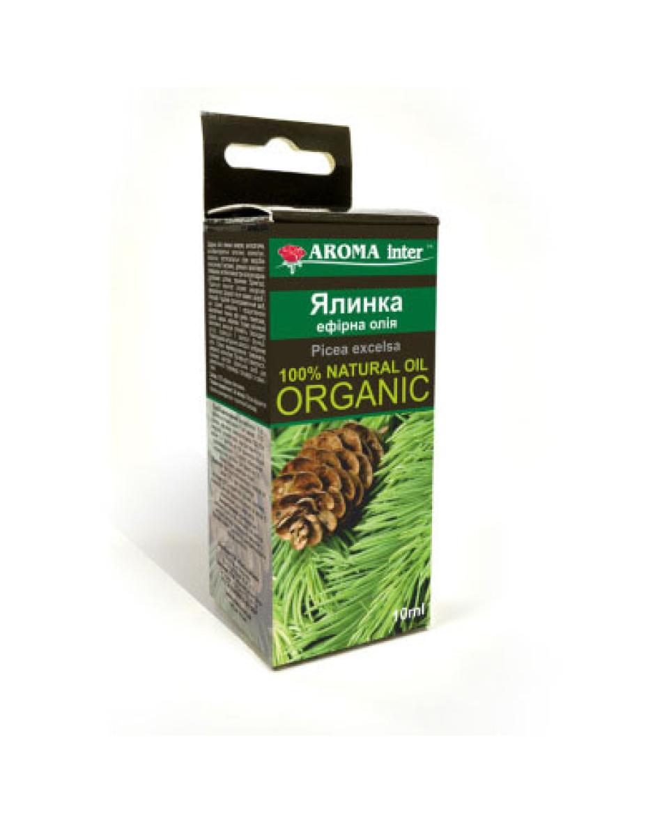 Ефірна олія ялинки 10 мл Aroma Inter
