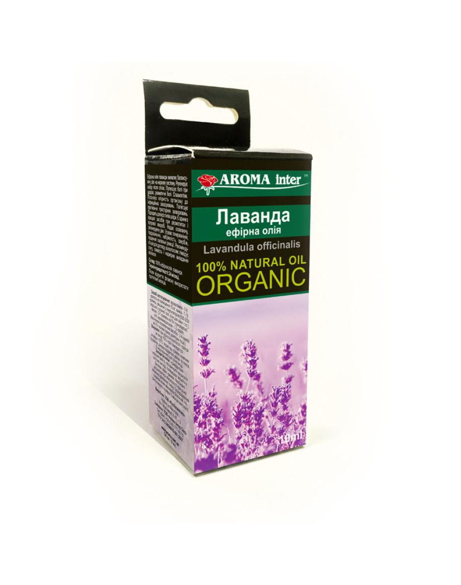 Ефірна олія лаванди 20 мл Aroma Inter