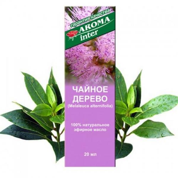 Ефірна олія чайного дерева 20 мл Aroma Inter