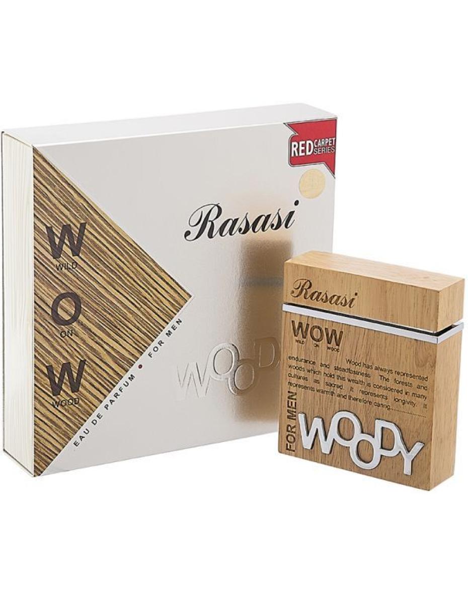 Woody  Rasasi - парфюмированная вода мужская