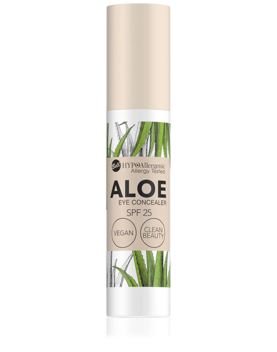 Консилер для очей Aloe Eye Concealer SPF25 01 Hypo Allergenic Bell