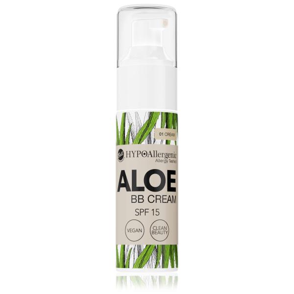 Флюїд Aloe BB Cream SPF15 01 Hypo Allergenic Bell