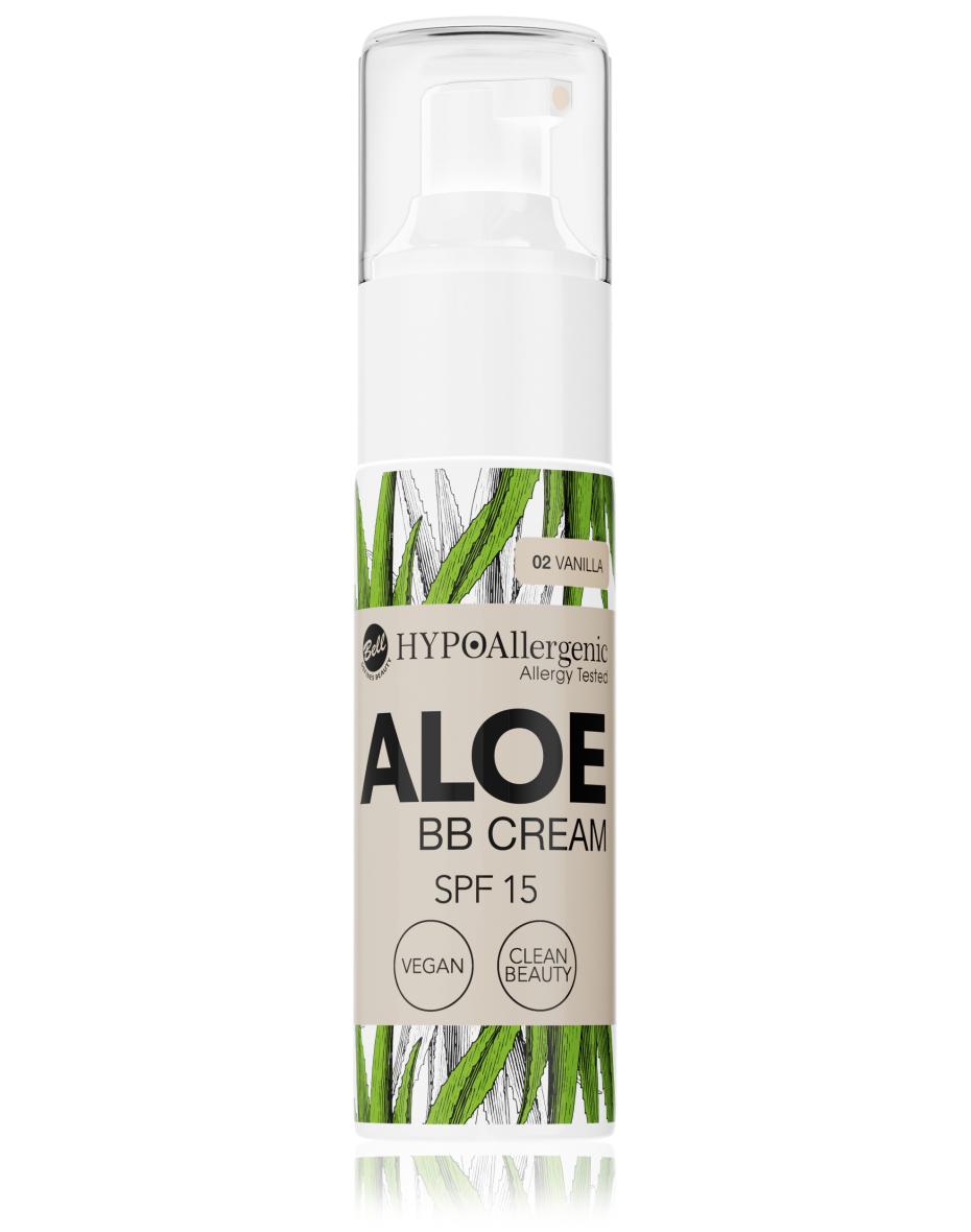 Флюїд Aloe BB Cream SPF15 02 Hypo Allergenic Bell