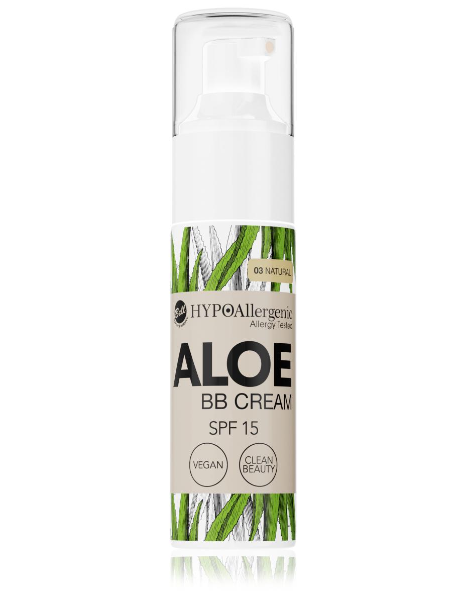 Флюїд Aloe BB Cream SPF15 03 Hypo Allergenic Bell