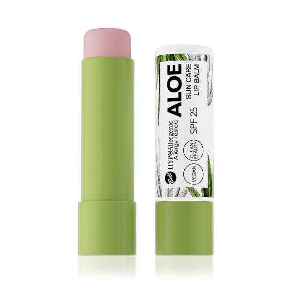 Бальзам д/губ Aloe Sun Care Lip Balm SPF25 01 Hypo Allergenic Bell