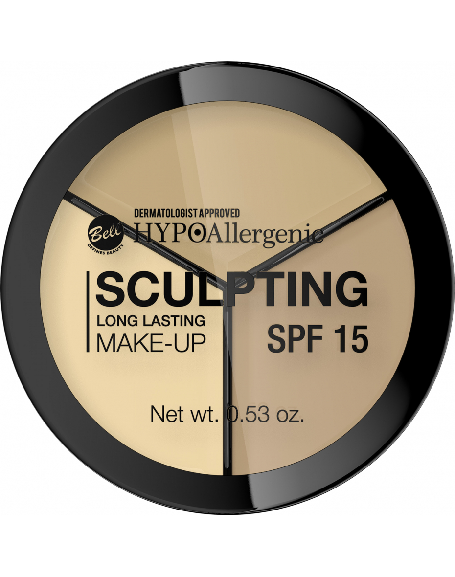 Палитра для лица Long Lasting Sculpting 01 Hypo Allergenic Bell