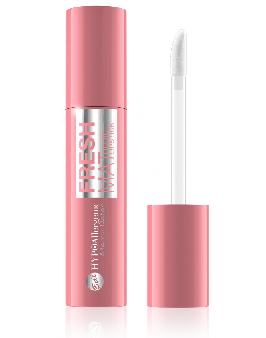 Помада для губ матова рідка Fresh Mat Liquid Lipstick №02 Hypo Allergenic Bell
