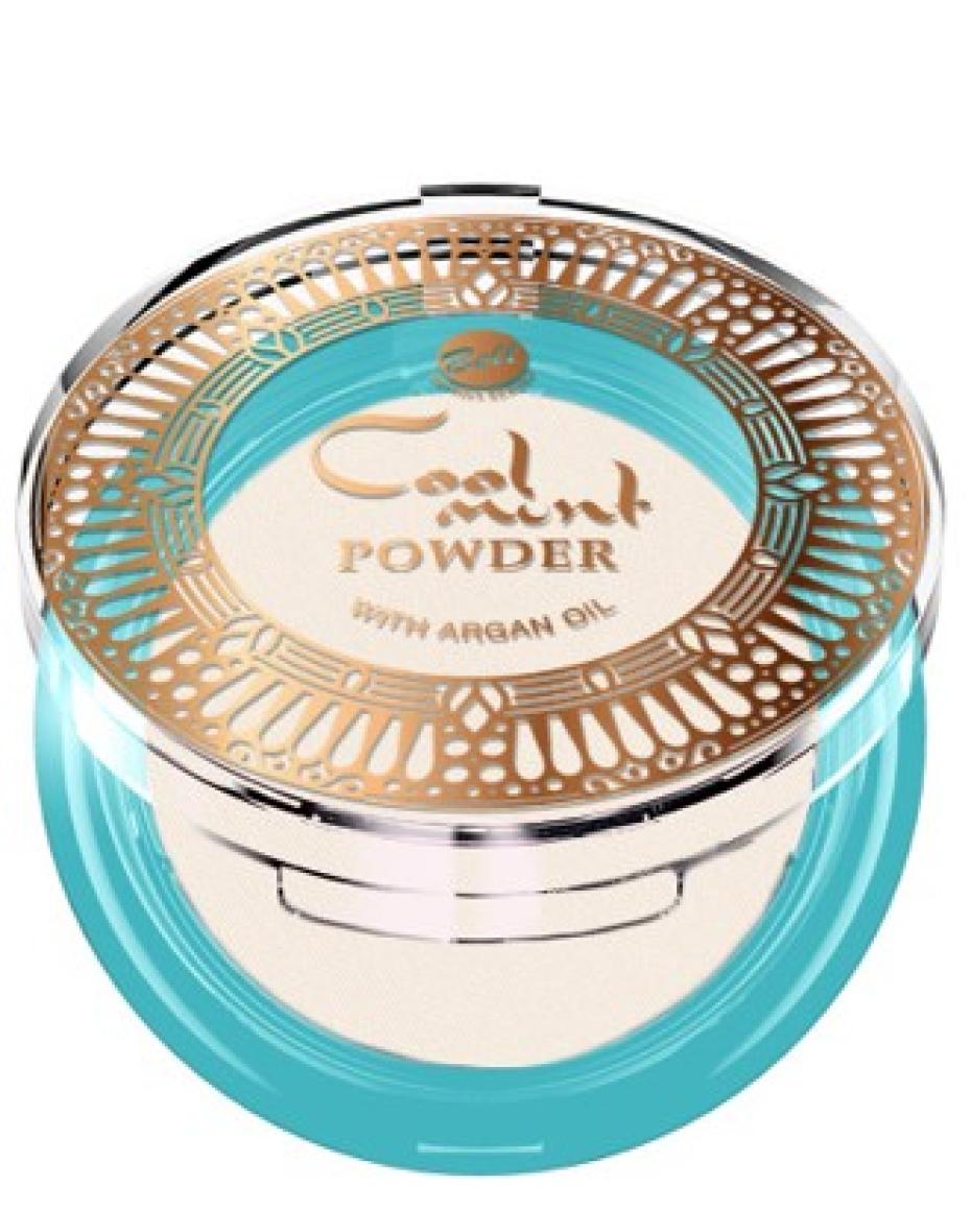 Пудра фіксуюча з м'ятою Cool Mint Powder 01 Bell