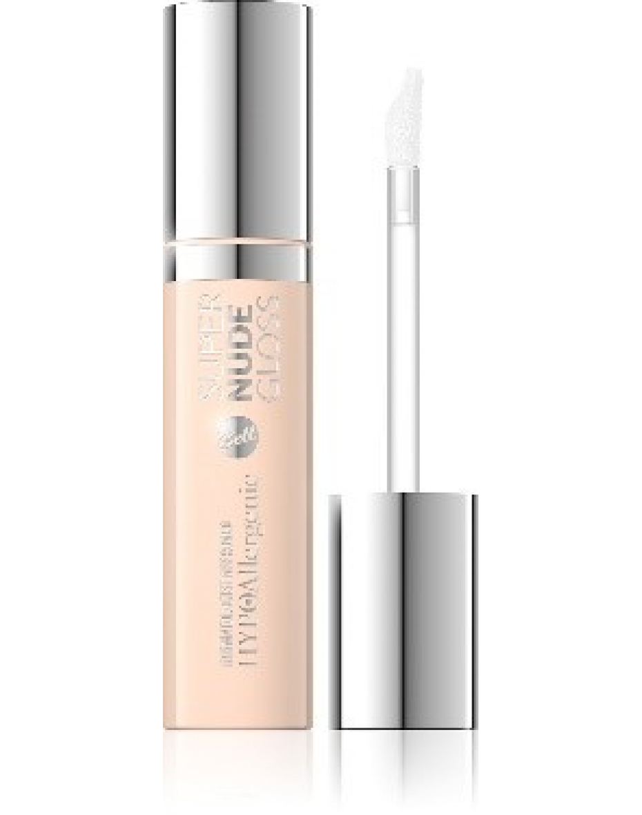 Блеск для губ HypoAllergenic Super Nude Gloss Bell №01