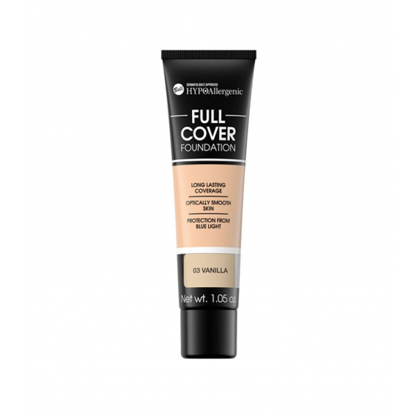 №3 Флюид Full Cover Foundation HYPO Allergenic Bell