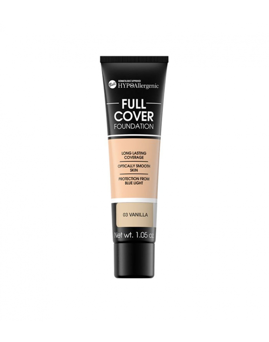 №3 Флюїд Full Cover Foundation  HYPO Allergenic Bell