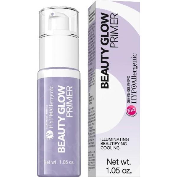 Beauty Glow Primer Hypo Allergenic Bell, база под макияж с эффектом хайлайтера