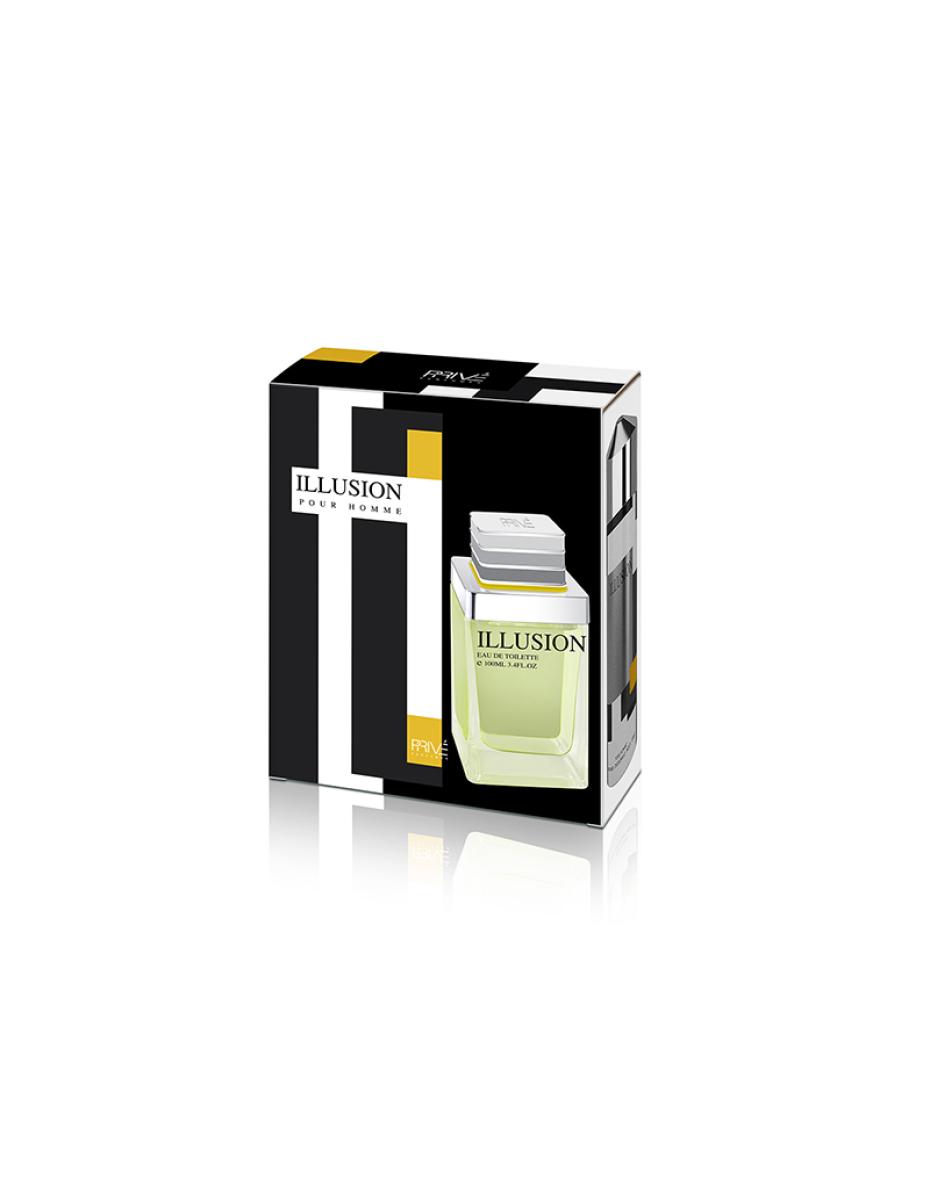 Illusion Prive Parfums - парфумерний набір чоловічий