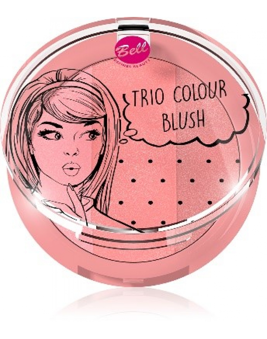 №1 Набор румян Trio Colour Blush Bell