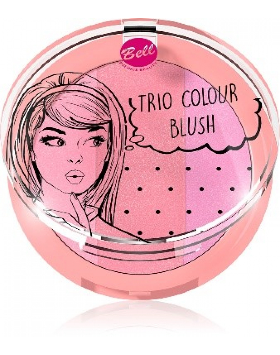 №2 Набор румян Trio Colour Blush Bell