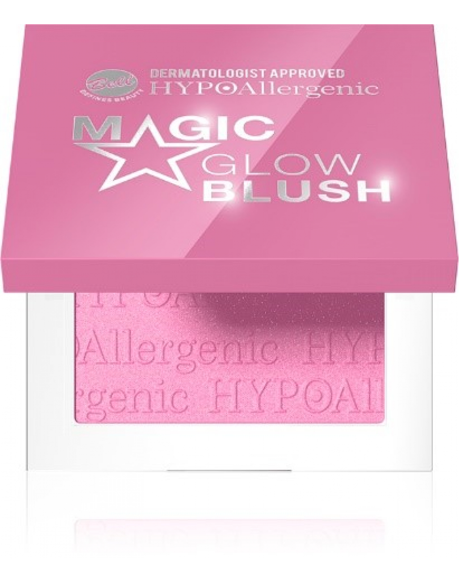 Румяна с эффектом хайлайтера Magic Glow Hypo Allergenic Bell