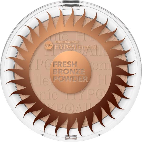 №1 Пудра бронзирующая Fresh Bronze Hypo Allergenic Bell