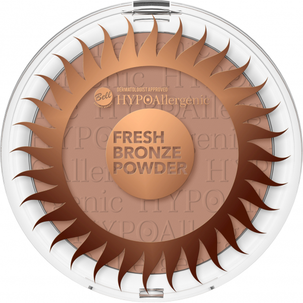 №3 Пудра бронзирующая Fresh Bronze Hypo Allergenic Bell