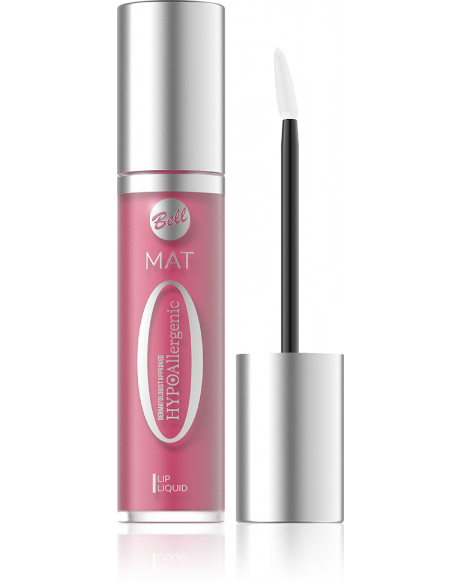 №04 Помада для губ матовая жидкая Hypo Allergenic 3.5г Bell