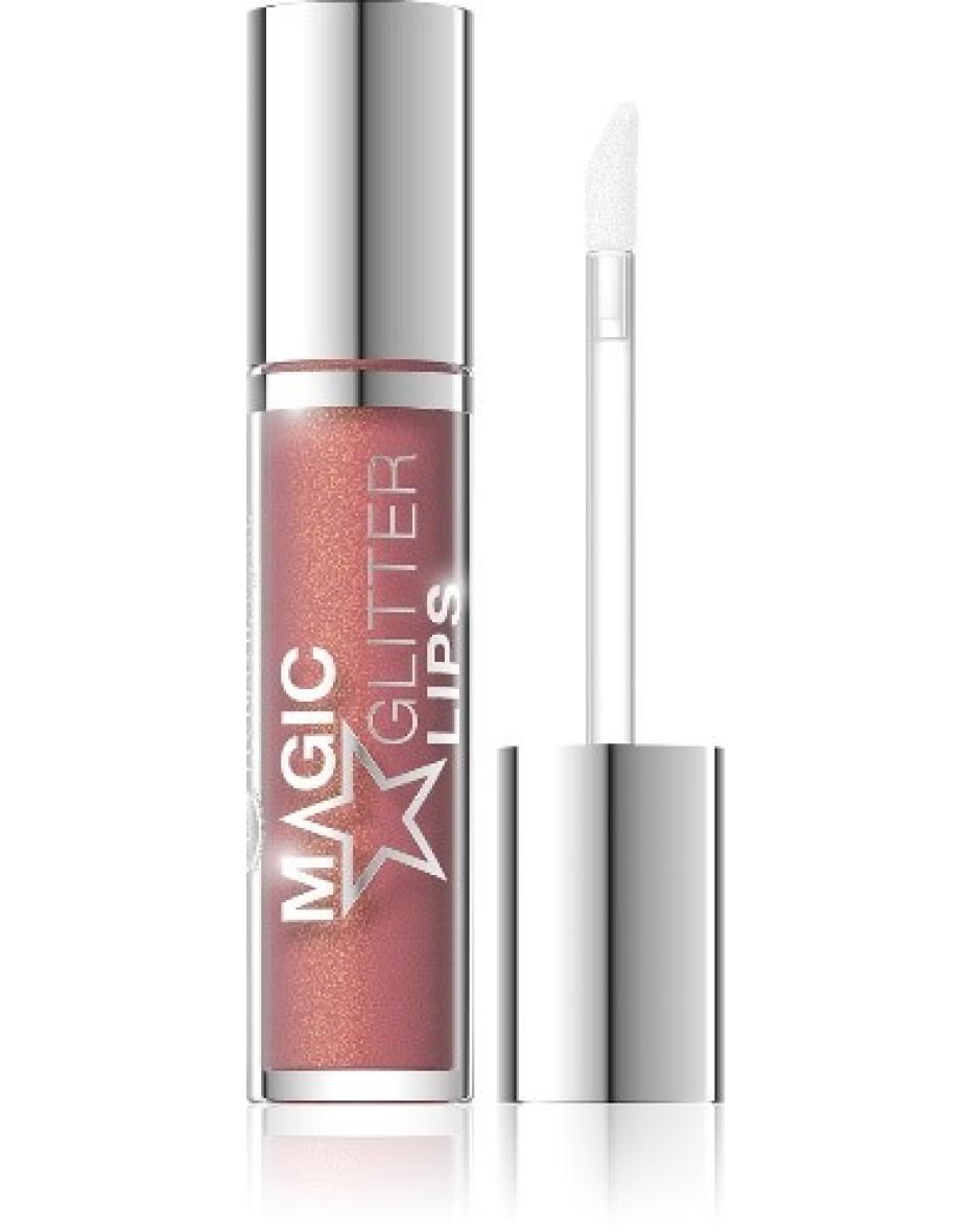 №02 Помада жидкая с глитером Magic Glitter Lips Hypo Allergenic Bell